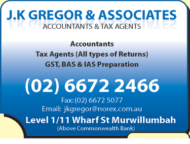 J K Gregor & Associates Accountants & Tax Agents