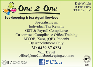 One 2 One Bookkeeping & Tax Agent Services