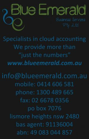 Blue Emerald - Accountant Brisbane
