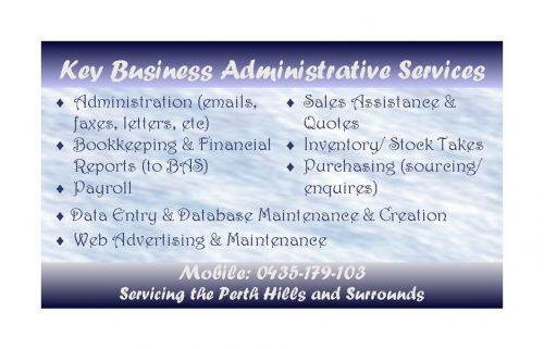 Key Business Administrative Services