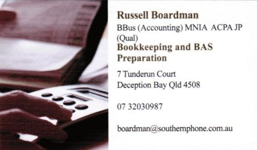 Russell Boardman Bookkeeping & BAS Preparation