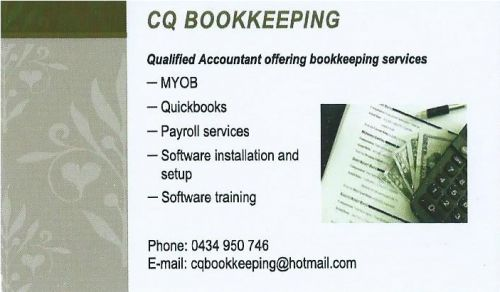 CQ Bookkeeping - Accountant Brisbane